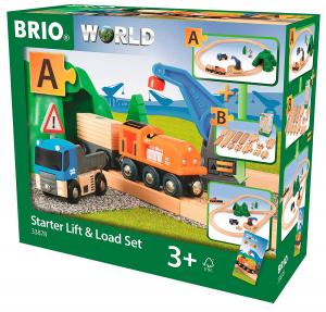 BRIO - Starter Set Carica e Trasporta, 33878
