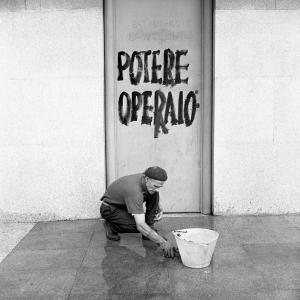 Proteste in Triennale, Milano, 1968