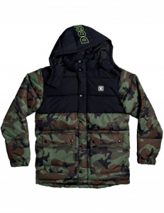 Giacca DC Straffen Camouflage