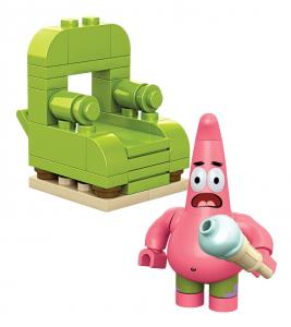 Mega Bloks 94629: Spongebob Patrick Wacky Pack Set