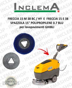 FRECCIA 15 M 38 BC / HY  E  FRECCIA 15 E 38 Standard Brush  15