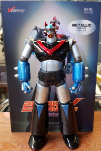 Korean Robot: Taekwon V Metallic Color 22 cm