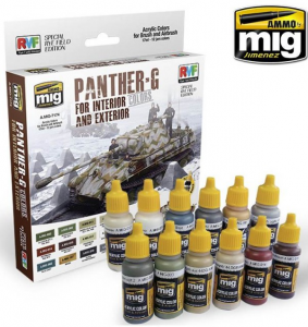 PANTHER-G Colors Set for Interior and Exterior Set