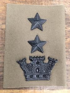 Grado da tuta OP da tenente colonnello
