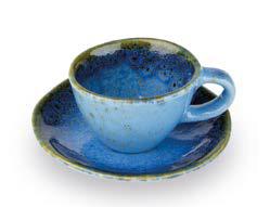 GIANNINI TAZZINA CAFFE' AZZURRA LINEA TERRE LONTANE 27425