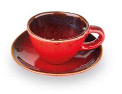 GIANNINI TAZZINA CAFFE' ROSSA LINEA TERRE LONTANE 27455