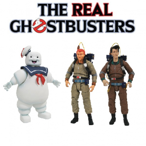The Real Ghostbusters DIAMOND SELECT serie 10 set di 3