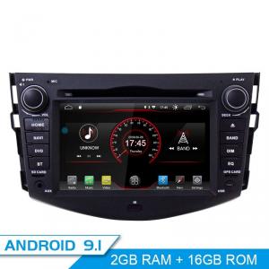 ANDROID 9.0 GPS DVD USB SD WI-FI Bluetooth Mirrorlink autoradio 2 DIN navigatore  Toyota Rav4 2006-2012