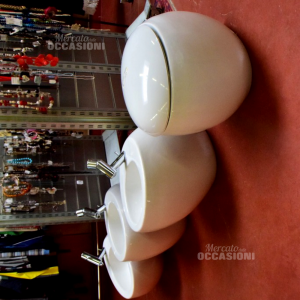Water + Lavandino + Bidet In Ceramica Alessi