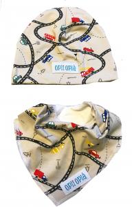 Traffico cappello + bavetta baby