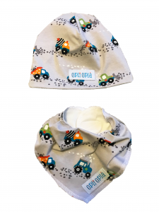 Cantiere cappello + bavetta baby