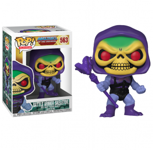 Funko Pop 563: BATTLE ARMOR SKELETOR  Masters of the Universe