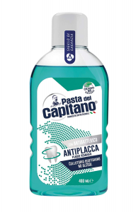 PASTA DEL CAPITANO Collutorio Antiplacca 400ml