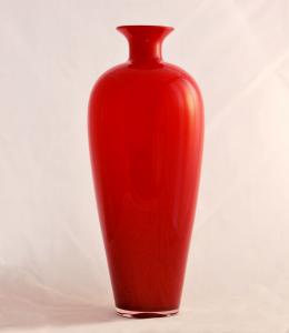 Vaso Murano rosso