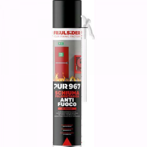 Friulsider pur 967 schiuma poliuretanica manuale anti fuoco 750ml art.96720