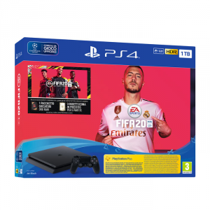 Playstation 4  1TB + FIFA 20 (bundle ufficiale) (Console)