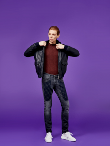 Jeans uomo Jeckerson con toppa check