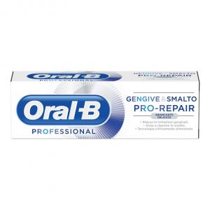 Dentifricio ORAL-B Professional Gengive&Smalto Pro-Repair Sbiancante Delicato 75ml