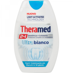 THERAMED 2in1 Dentifricio+Collutorio Ultra Bianco 75ml