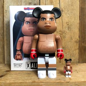 Be@rbrick Medicom Toy Muhammad Ali 100% e 400%