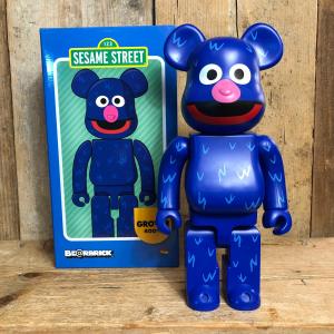 Be@rbrick Medicom Toy Grover 400% Sesame Street 123