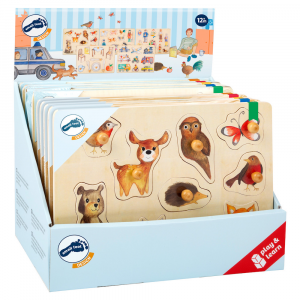 Puzzle in legno Espositore small foot