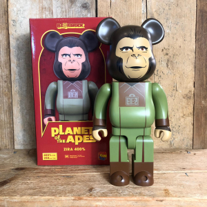 Be@rbrick Medicom Toy Zira 400% Planet Of The Apes
