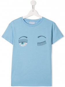 T-shirt Chiara Ferragni Celeste