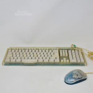Tastiera + Mouse Trasparente Super Design Astronomico
