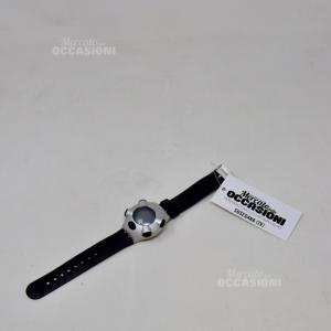 Orologio Swatch Digitale Con Cinturino Nero In Gomma