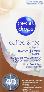 PEARL DROPS Coffee&Tea Dentifricio 50ml