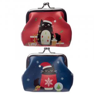 Portamonete Felin fine Christmas time (xpur71)
