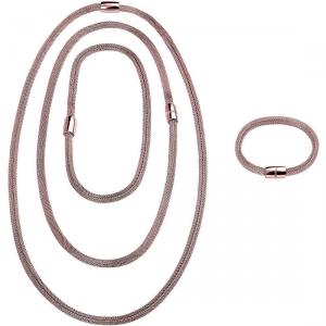 Gioiello multi indosso girocollo-bracciale-collana Breil New Snake Soft Codice: TJ2841