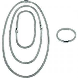 Gioiello multi indosso girocollo-bracciale-collana Breil New Snake Soft Codice: TJ2840