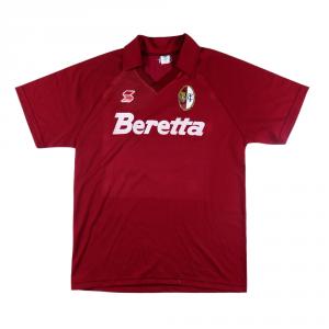 1991-92 Torino Maglia Match worn/issue #6 Cravero XL