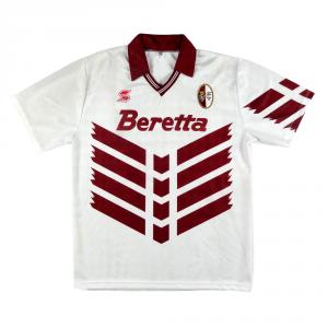 1991-92 Torino Maglia Away Match worn/issue #10 Vazquez XL