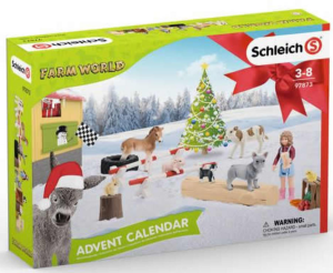 SCHLEICH CALENDARIO DELL'AVVENTO FARM WORLD 97873
