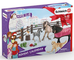 SCHLEICH CALENDARIO DELL'AVVENTO HORSE CLUB 97875