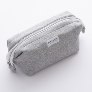 Beauty case Store Bag Happy Grey Melange