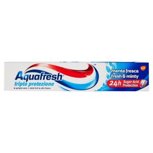 AQUAFRESH Tripla Protezione Menta Fresca Dentifricio 75ml