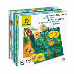 LUDATTICA FAMILY GAME - LA TOMBOLA DEGLI ANIMALI 74976