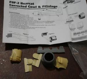 F8F-2 BEARCAT COWLING/FUSELAGE CORRECTION