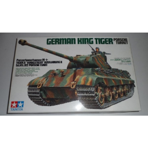 GERMAN KING TIGER PORSCHE TURRET TAMIYA