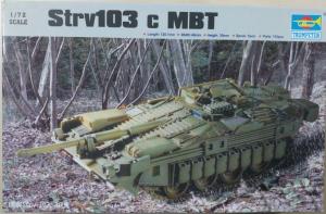 STRV 103 C MBT TRUMPETER