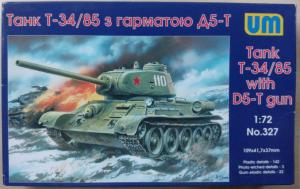 T-34/85 WITH D5-T GUN UNIMODELS