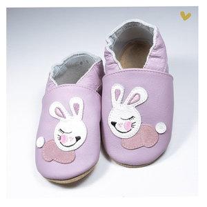 Babice - Babbucce in vera pelle - Rabbit - 24/25