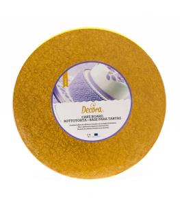 Cakeboard oro Decora 50 cm