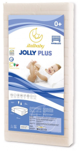 Materasso Lettino Jolly plus 0m+ Italbaby