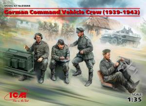 German Command Vehicle Crew