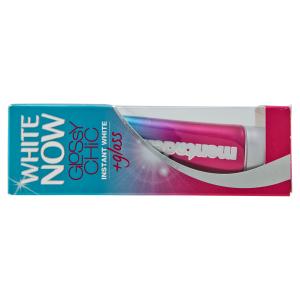 MENTADENT White Now Glossy Chic Dentifricio 50ml